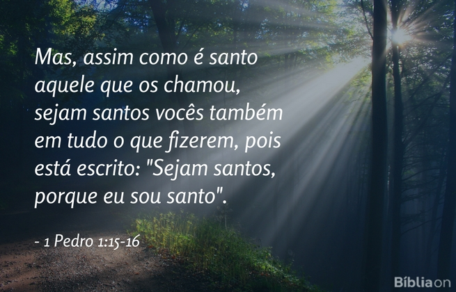 1 Pedro 1:15-16
